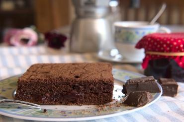 Buchweizenschokokuchen, Scherbauerhof